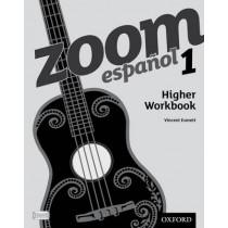 Zoom espanol 1 Higher Workbook (8 Pack) by Vincent Everett, 9780199128150