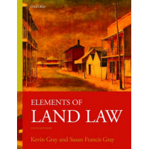 Elements of Land Law by Kevin Gray, 9780199219728