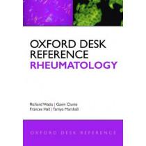 Oxford Desk Reference: Rheumatology by Richard Watts, 9780199229994