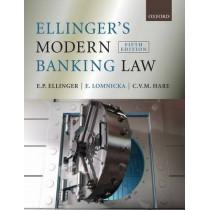 Ellinger's Modern Banking Law by E.P. Ellinger, 9780199232093