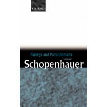 Parerga and Paralipomena: Volume 1: Six Long Philosophical Essays by Arthur Schopenhauer, 9780199242207