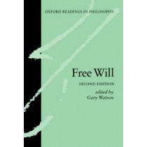 Free Will by Gary Watson, 9780199254941