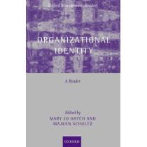 Organizational Identity: A Reader by Mary Jo Hatch, 9780199269471
