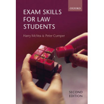 Exam Skills for Law Students by Harry McVea, 9780199283095