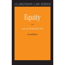 Equity by Sarah Worthington, 9780199290505