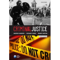 Criminal Justice by Andrew Sanders, 9780199541317