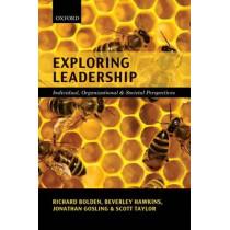 Exploring Leadership: Individual, Organizational, and Societal Perspectives by Richard Bolden, 9780199547661