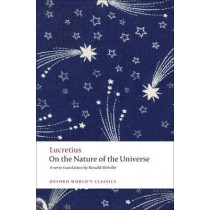 On the Nature of the Universe by Lucretius, 9780199555147