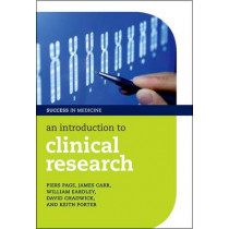 An Introduction to Clinical Research by Piers Page, 9780199570072