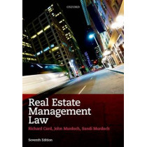 Real Estate Management Law by Richard Card, 9780199572045