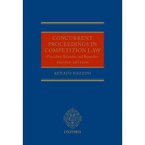 Competition Enforcement and Procedure by Renato Nazzini, 9780199578832