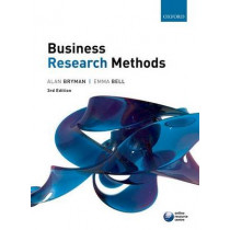 Business research methods, 9780199583409