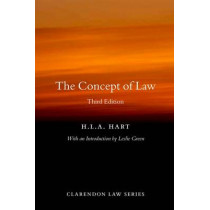 The Concept of Law by H. L. A. Hart, 9780199644704