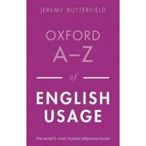 Oxford A-Z of English Usage by Jeremy Butterfield, 9780199652457
