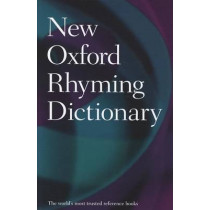 New Oxford Rhyming Dictionary by Oxford Dictionaries, 9780199652464