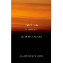 Land Law by Elizabeth Cooke, 9780199653225