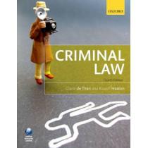 Criminal Law by Claire de Than, 9780199657209