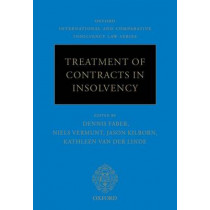 Treatment of Contracts in Insolvency by Dennis Faber, 9780199668366