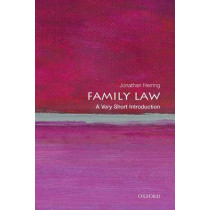 Family Law: A Very Short Introduction by Jonathan Herring, 9780199668526