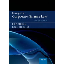 Principles of Corporate Finance Law by Eilis Ferran, 9780199671359