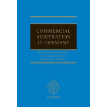 Commercial Arbitration in Germany by Richard Kreindler, 9780199676811