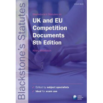 Blackstone's UK & EU Competition Documents by Kirsty Dougan, 9780199678631
