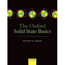 The Oxford Solid State Basics by Steven H. Simon, 9780199680771