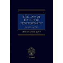 The Law of EU Public Procurement by Christopher Bovis, 9780199684687