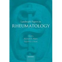 Landmark Papers in Rheumatology by Richard A. Watts, 9780199688371