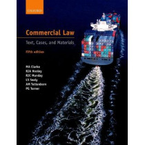 Commercial Law: Text, Cases, and Materials by R. J. A. Hooley, 9780199692088