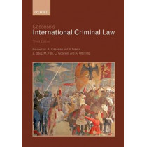 Cassese's International Criminal Law by Antonio Cassese, 9780199694921