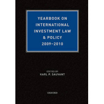 Yearbook on International Investment Law & Policy 2009-2010 by Karl Sauvant, 9780199767014