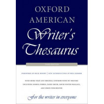 Oxford American Writer's Thesaurus, 9780199829927