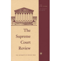 The Supreme Court Review: 2008 by Dennis J. Hutchinson, 9780226362533