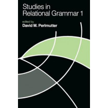 Studies in Relational Grammar: v.1 by David M. Perlmutter, 9780226660523