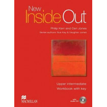 New Inside Out Upper-Intermediate Workbook Pack with Key by Sue Kay, 9780230009233