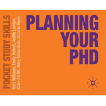 Planning Your PhD by Kate Williams, 9780230251939