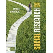 Social Research by Sotirios Sarantakos, 9780230295322