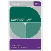 Company Law by Janet Dine, 9780230362079