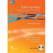 Language Practice Elementary Student's Book -key Pack 3rd Edition by Vince Michael, 9780230726963