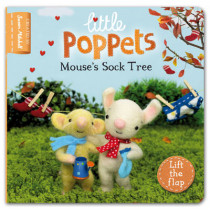 Little Poppets: Mouse's Sock Tree: A lift-the-flap first story by Paula Metcalf, 9780230764750