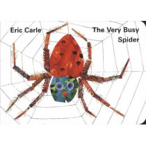 The Very Busy Spider by Eric Carle, 9780241135907