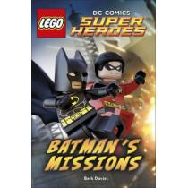 LEGO (R) DC Comics Super Heroes: Batman's Missions by Beth Davies, 9780241184011