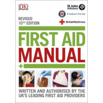 First Aid Manual by DK, 9780241241233