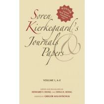 Soren Kierkegaard's Journals and Papers, Volume 1: A-E by Soren Kierkegaard, 9780253182401