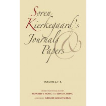 Soren Kierkegaard's Journals and Papers, Volume 2: F-K by Soren Kierkegaard, 9780253182418