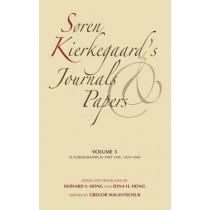 Soren Kierkegaard's Journals and Papers, Volume 5: Autobiographical, Part One, 1829-1848 by Soren Kierkegaard, 9780253182449