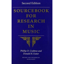 Sourcebook for Research in Music by Donald H. Foster, 9780253217806
