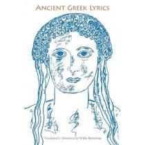 Ancient Greek Lyrics by William McCulloh, 9780253221216
