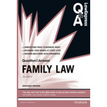 Law Express Question and Answer: Family Law by Jonathan Herring, 9780273783633